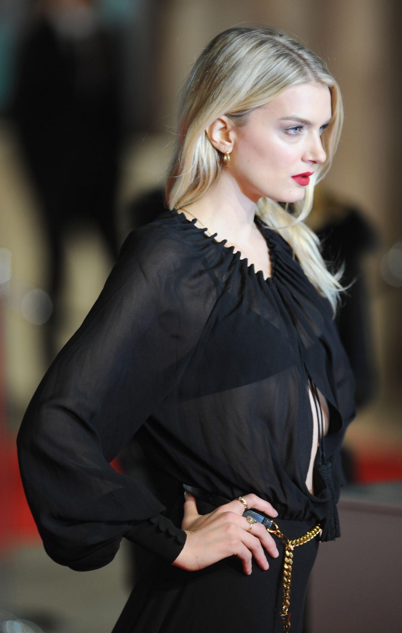 Lily Donaldson BAFTA Film Awards 2016 In London
