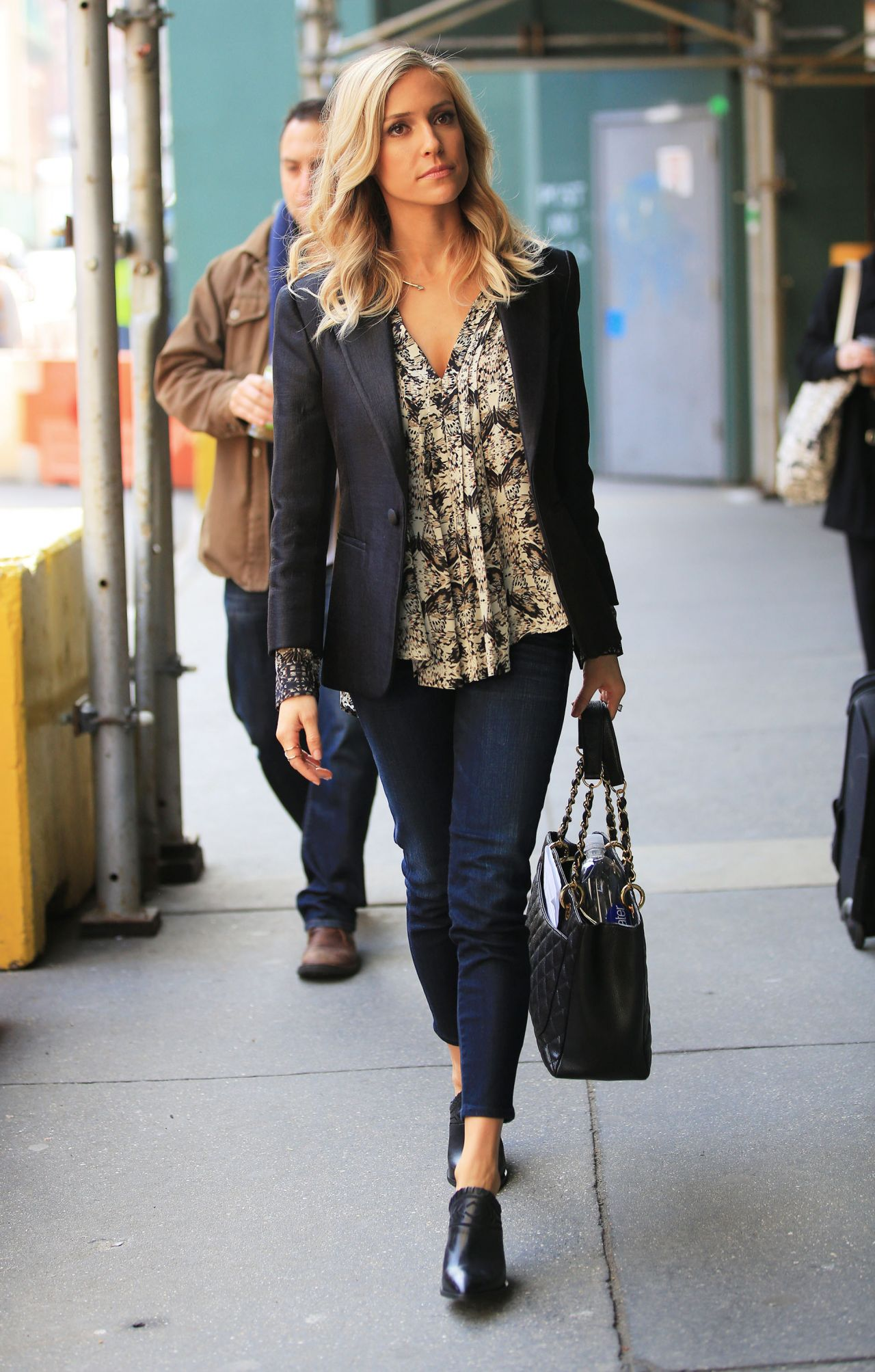 Kristin Cavallari Out Promoting Her Book In New York