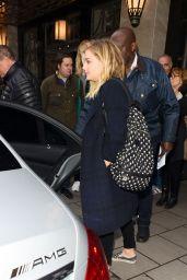 Chloe Moretz - Leaving Claridges in London, UK 4/25/2016