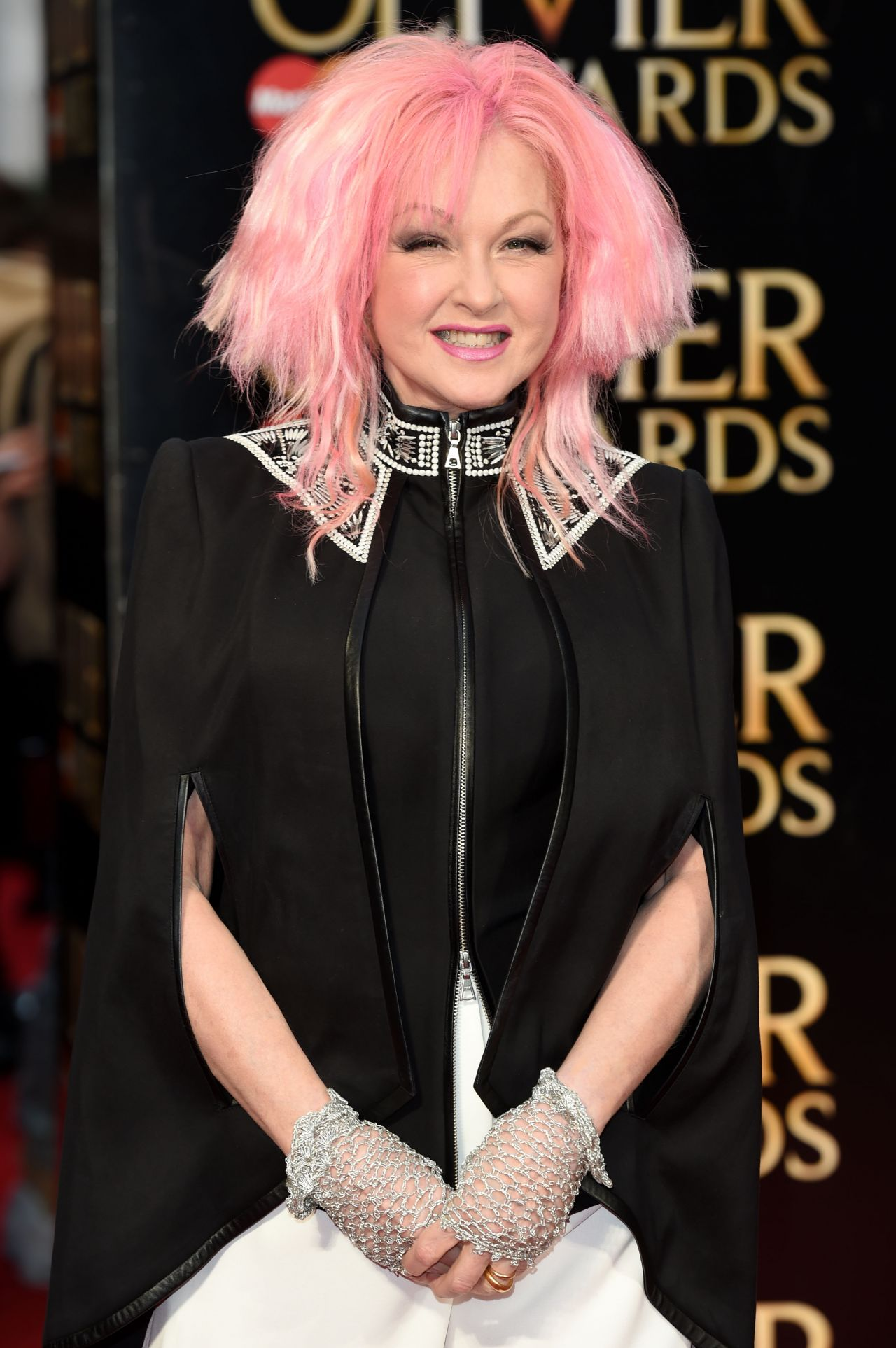 Cyndi Lauper Olivier Awards 2016 At The Royal Opera