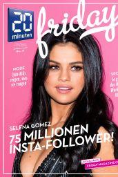 Selena Gomez - 20 Minuten Friday April 2016 Issue