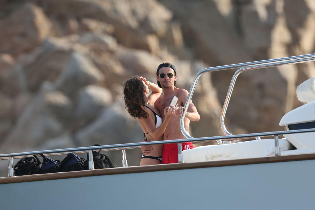 Danielle Campbell In Bikini On A Yacht In Cabo San Lucas