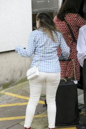 Kelly Brook Arriving At The ITV Studios In London 6292016