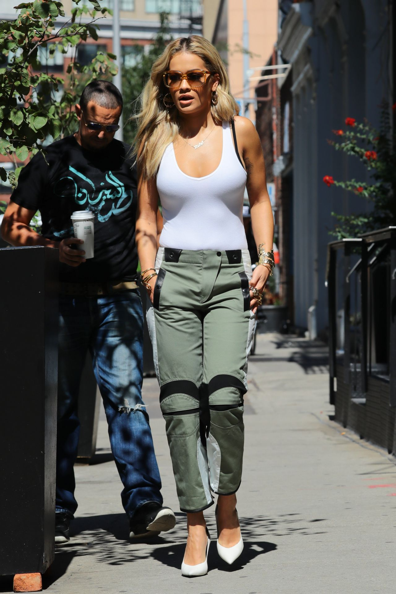 Rita Ora Street Style Out In NYC 892016
