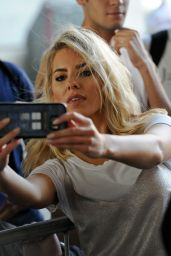 Mollie King at the BBC Radio 1 Studios in London 9/15/2016