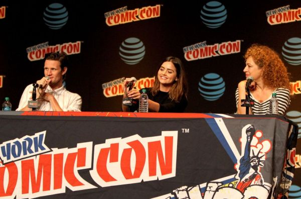 Jenna Coleman - 'Doctor Who' Panel at New York Comic Con ...