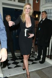Lara Stone at Marks Private Members Club in London, 10/28/ 2016