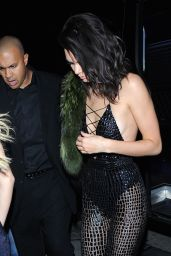 Kendall Jenner -Bbirthday at Catch Restaurant in West Hollywood 11/02/2016