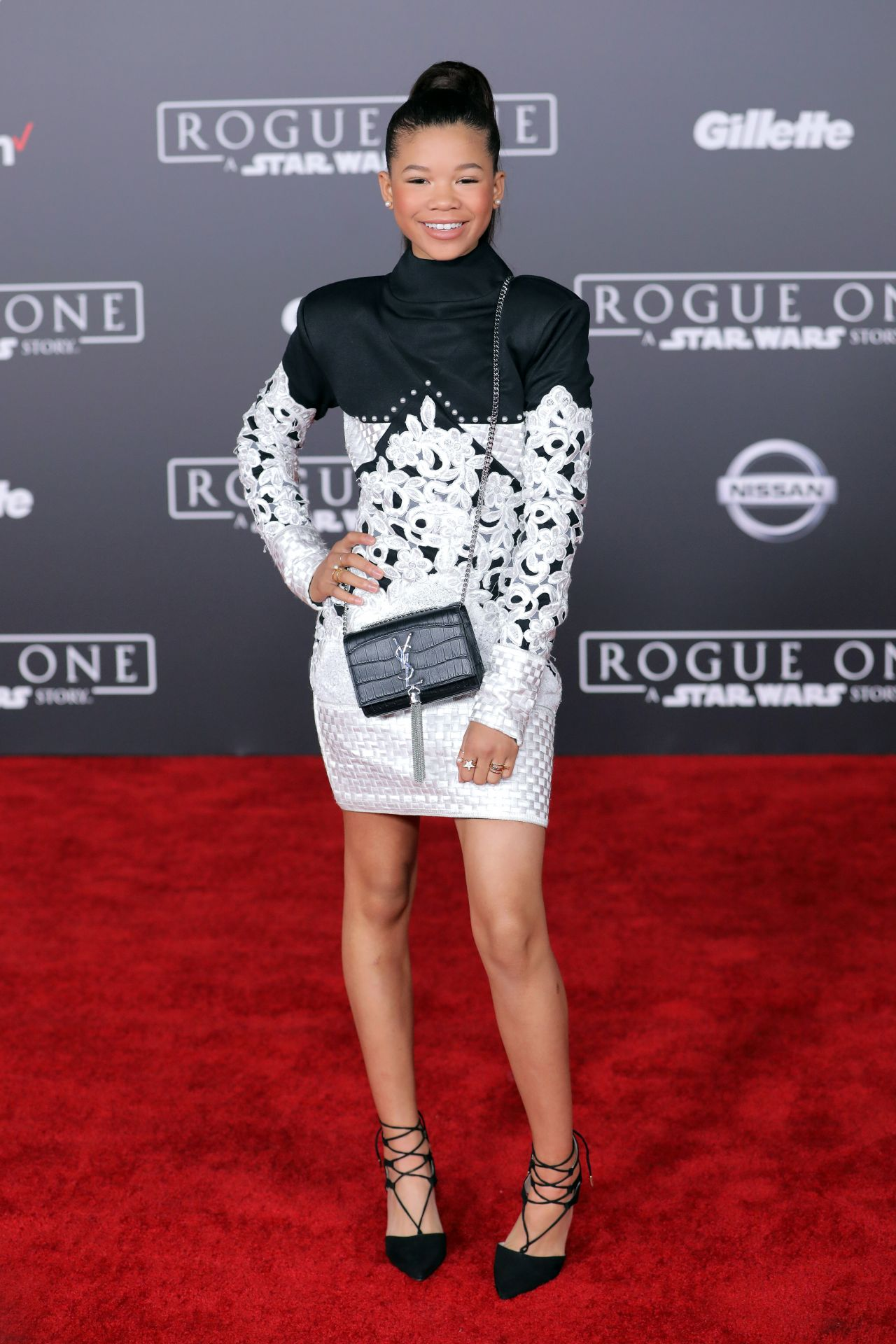 Storm Reid Rogue One A Star Wars Story Premiere In