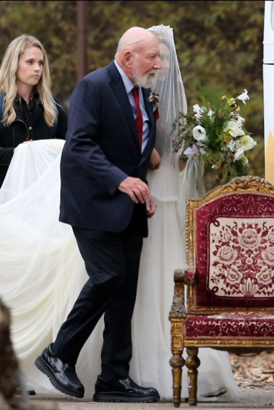 Troian Bellisario Her Wedding In Santa Barbara CA 1210