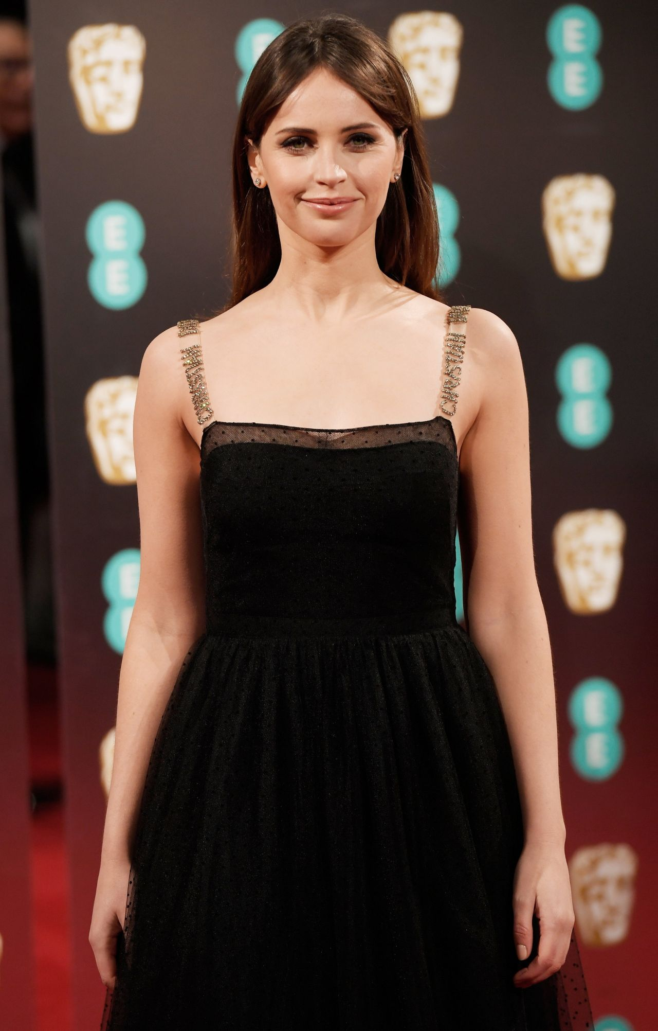 Felicity Jones At BAFTA Awards In London UK 212 2017