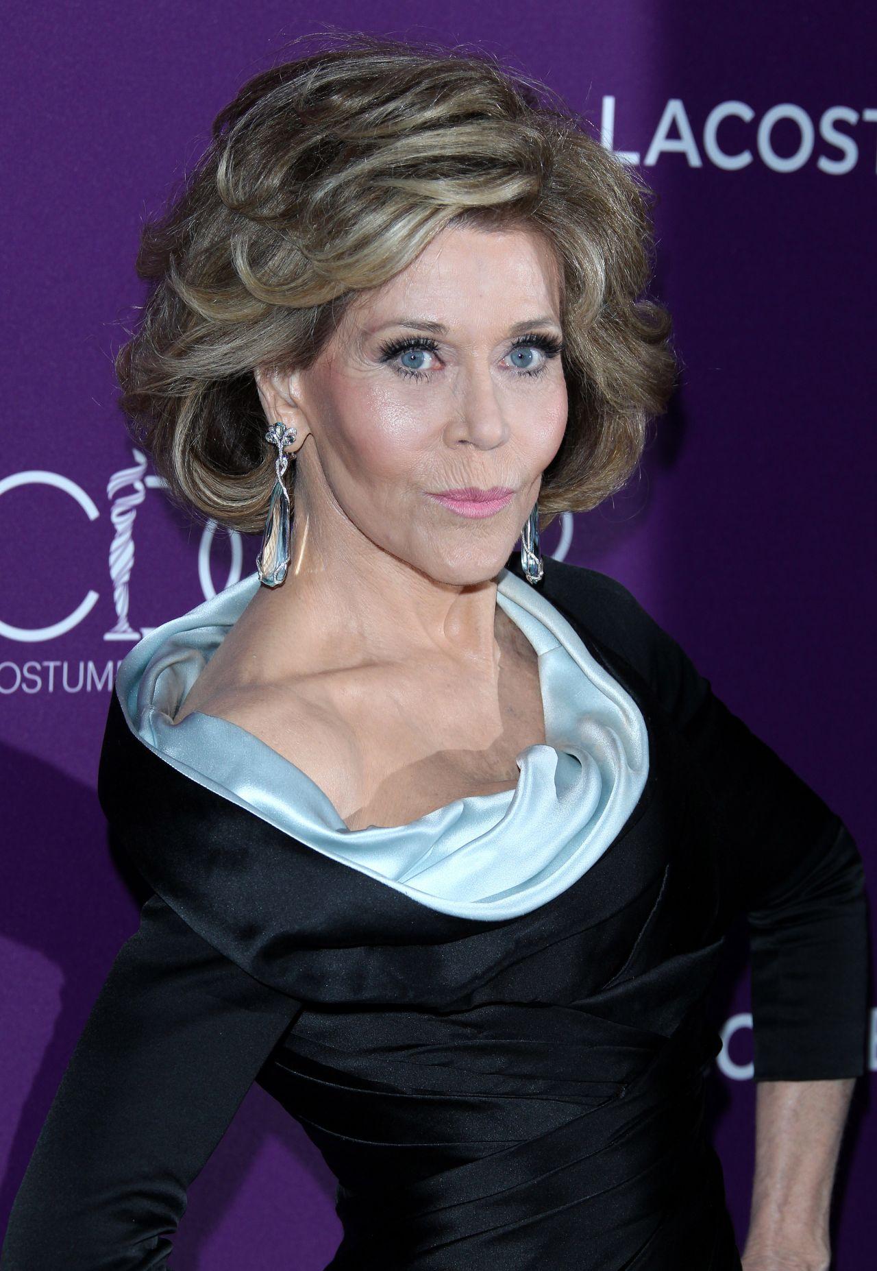 Jane Fonda Costume Designers Guild Awards In Beverly