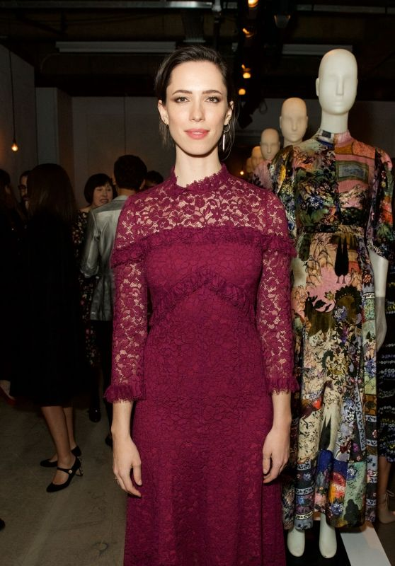 Rebecca Hall - Erdem and Selfridges Dinner at LFW in London 2/20/ 2017