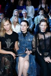 Charlotte Le Bon at Paris Fashion Week – Christian Dior Show 3/3/ 2017