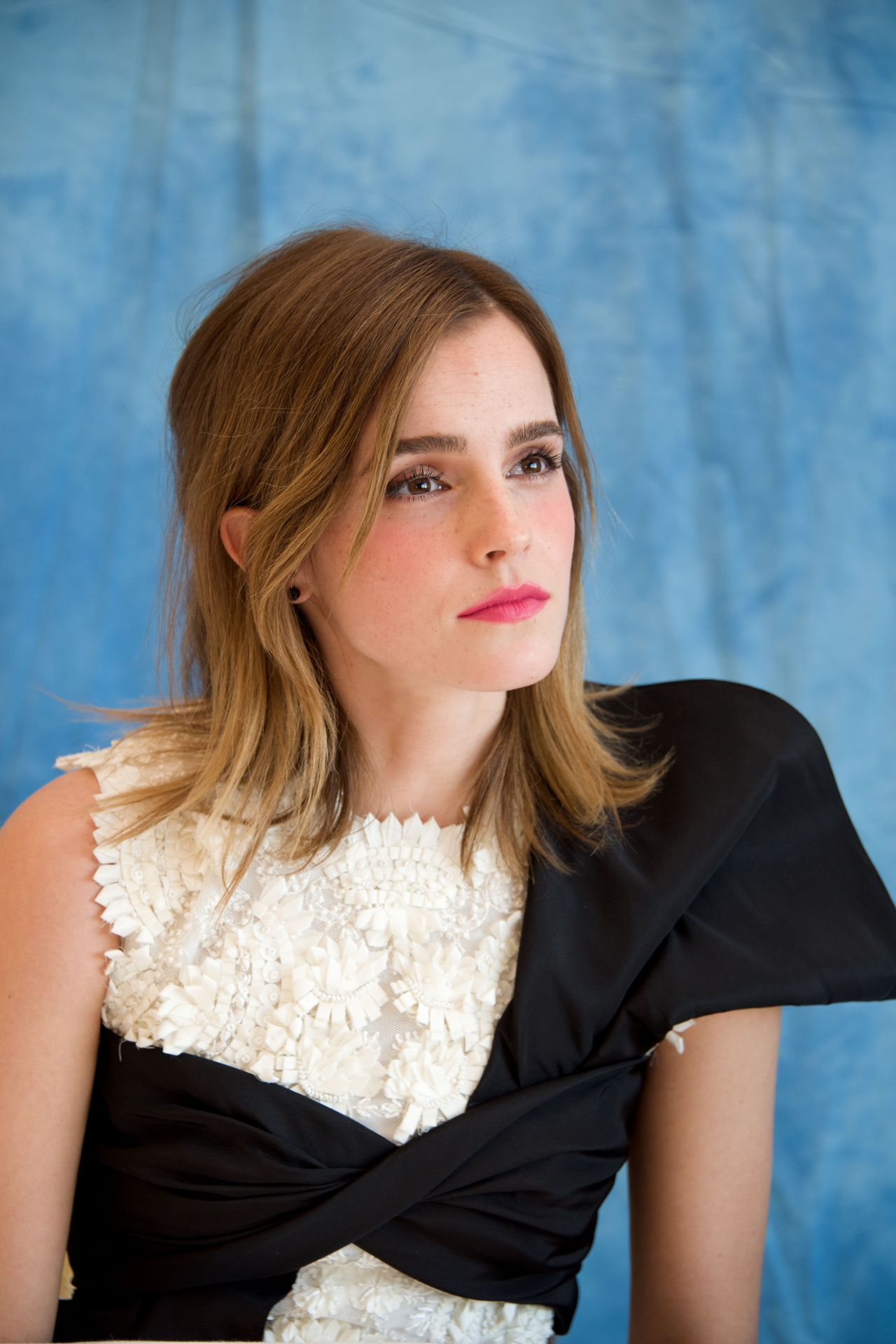 Emma Watson Beauty And The Beast Press Conference At