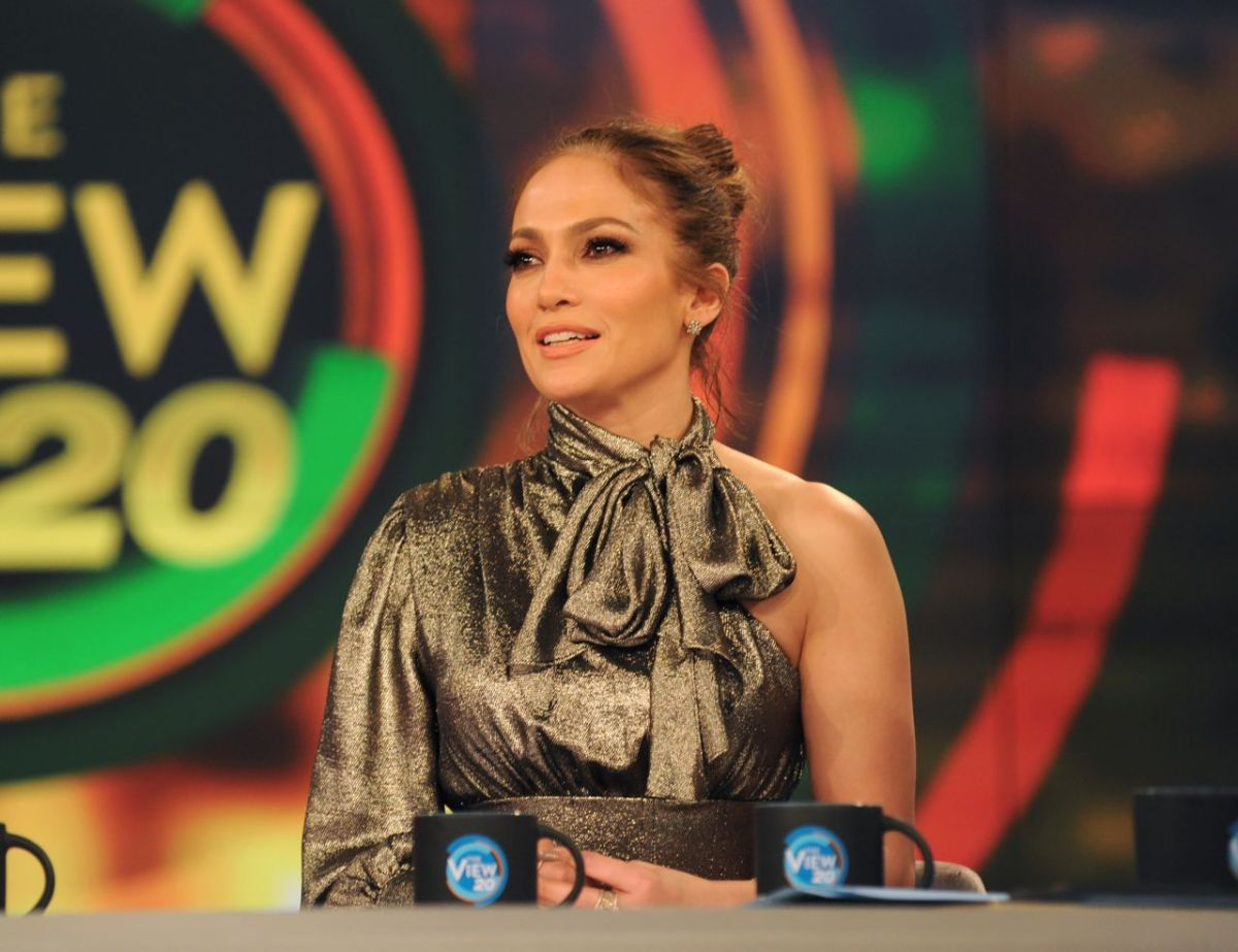 Jennifer Lopez at 'The View' TV Show in New York 3/3/ 2017