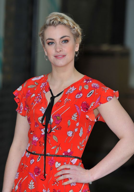 Stefanie Martini at the ITV Studios in London, UK 3/2/ 2017