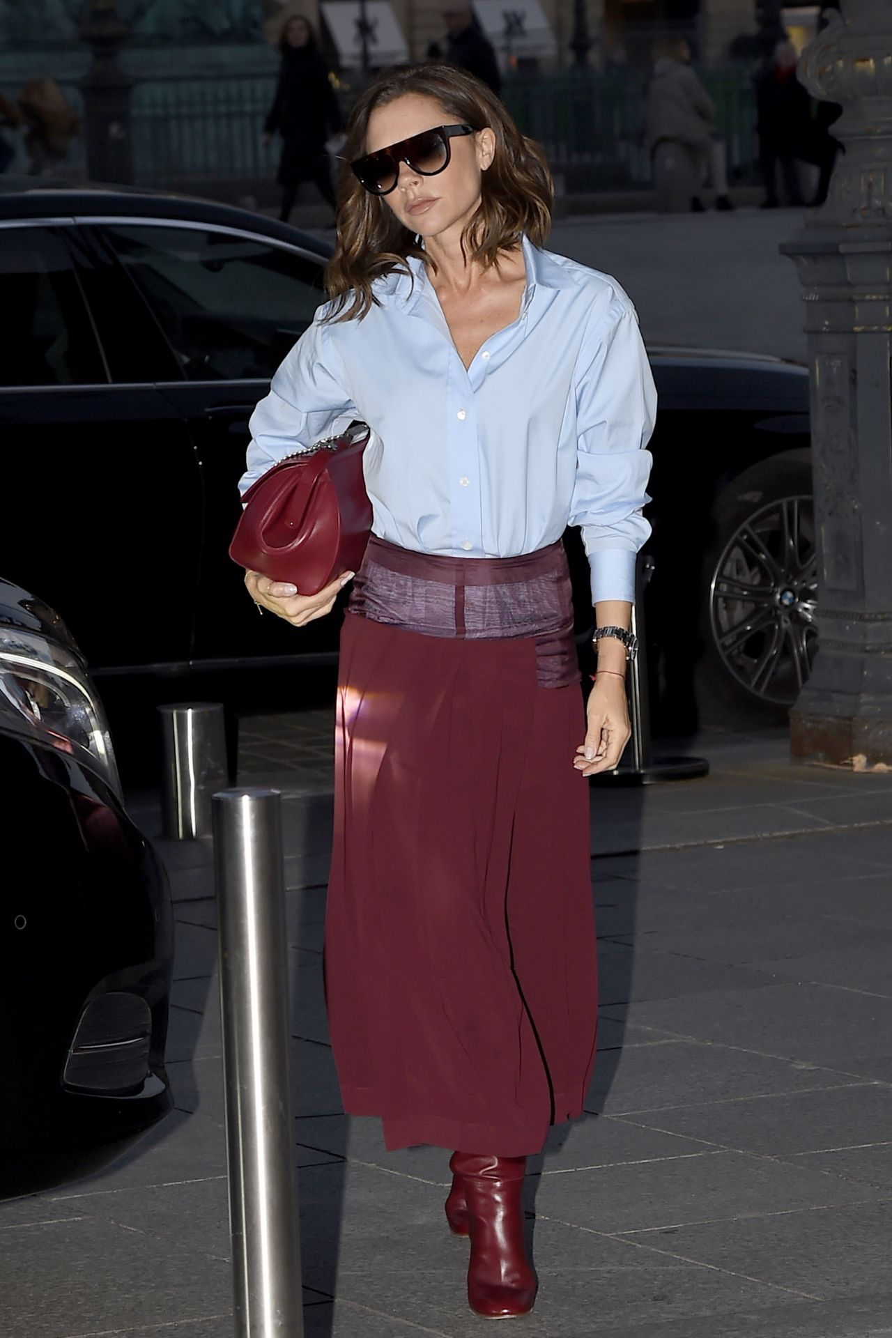 Victoria Beckham Style Returns To Her Paris Hotel 310 2017