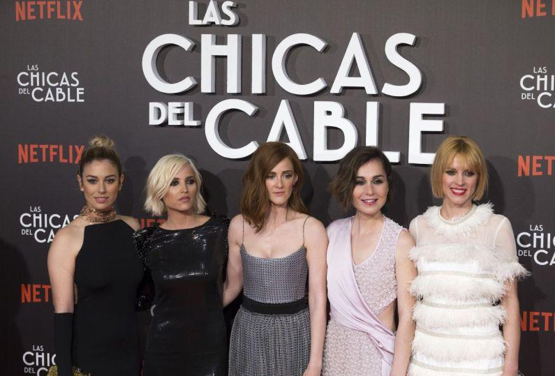 las chicas del cable reparto femenino