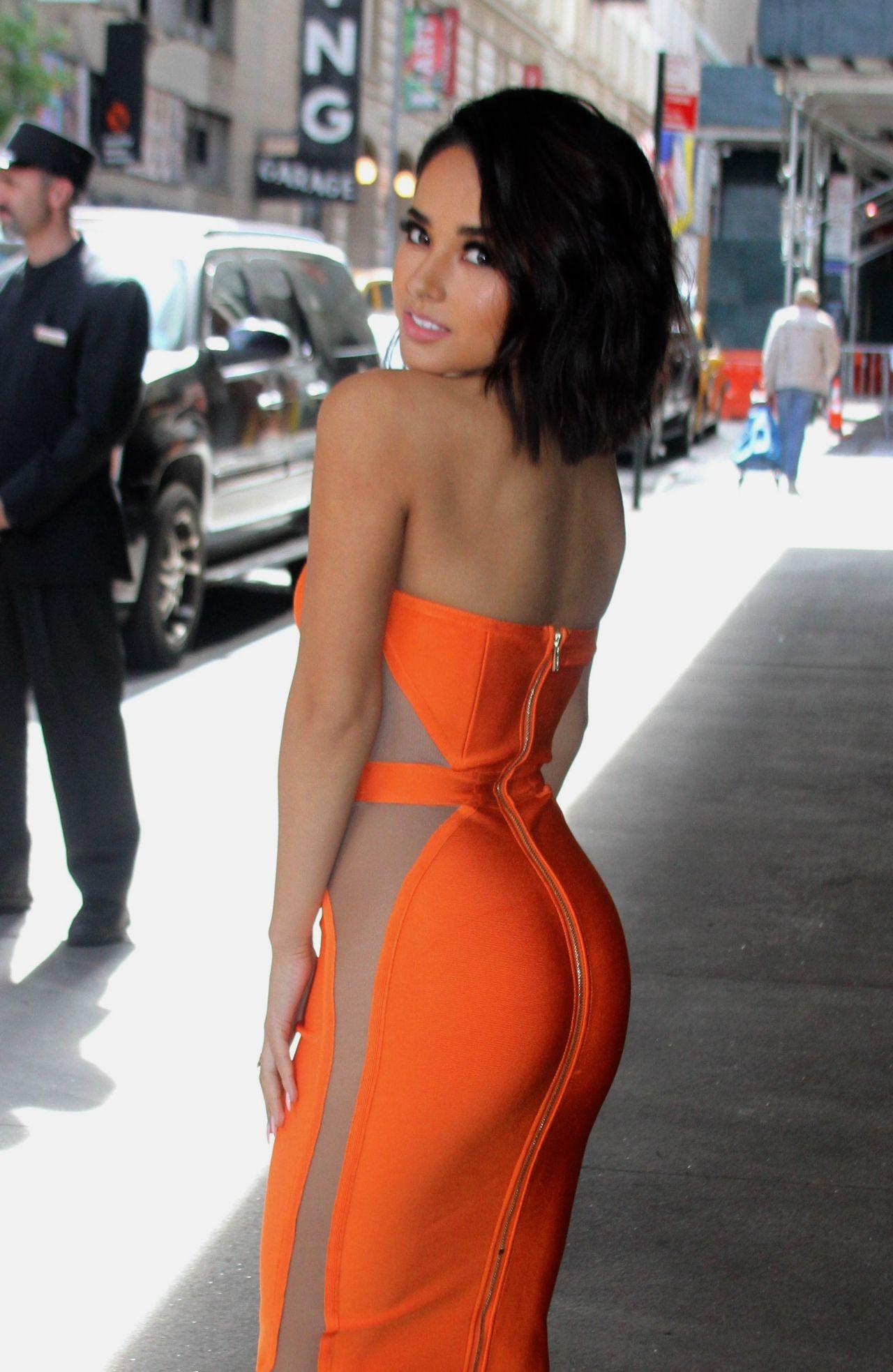 Becky G Univision Upfront Presentation In New York 0516