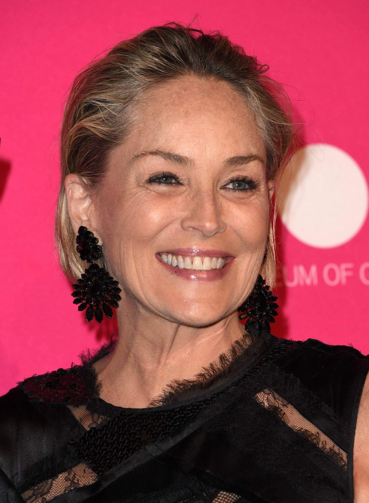 Sharon Stone MOCA Gala In Los Angeles 04292017