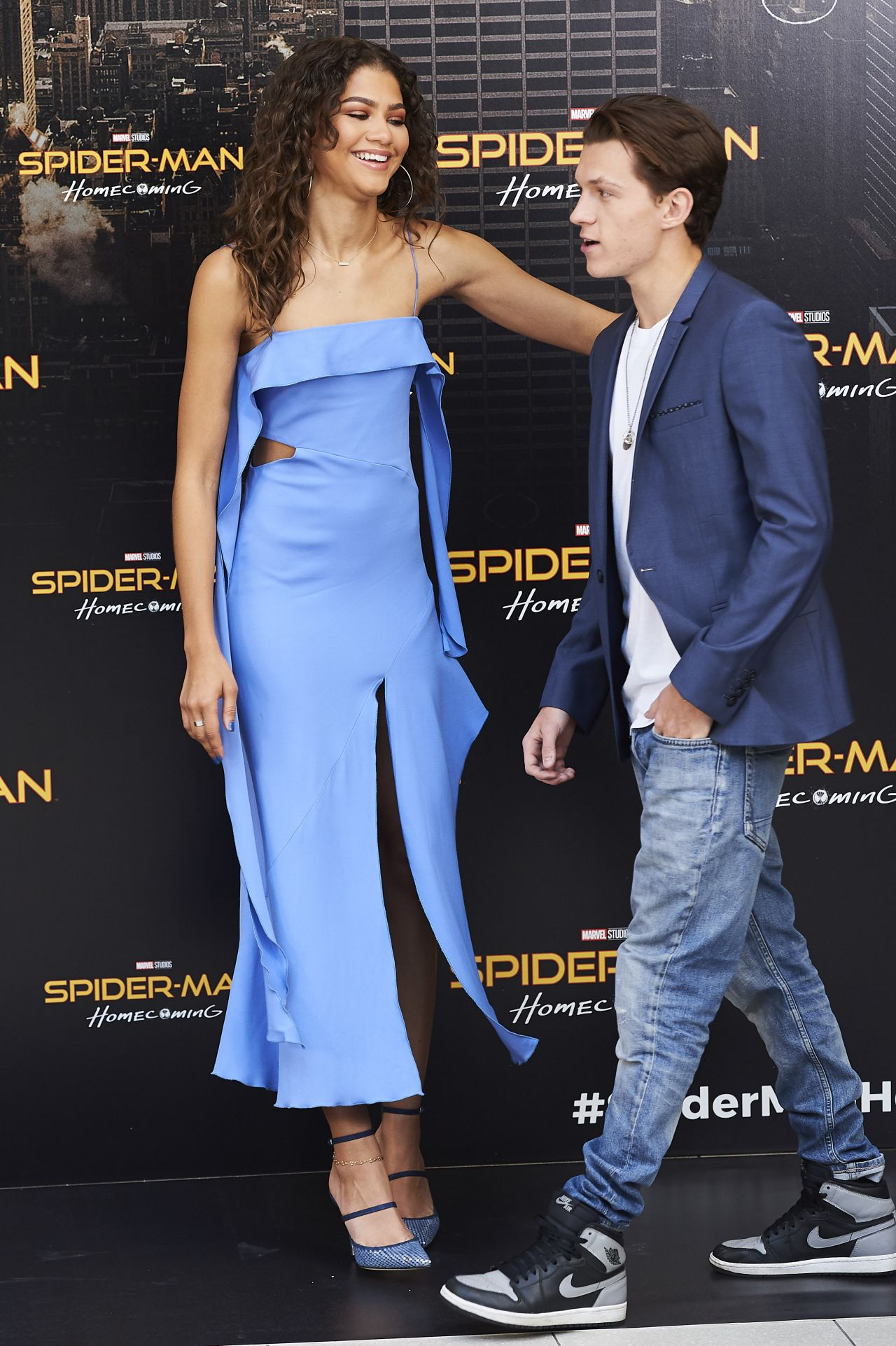 Zendaya Spider Man Homecoming Presentation In Madrid