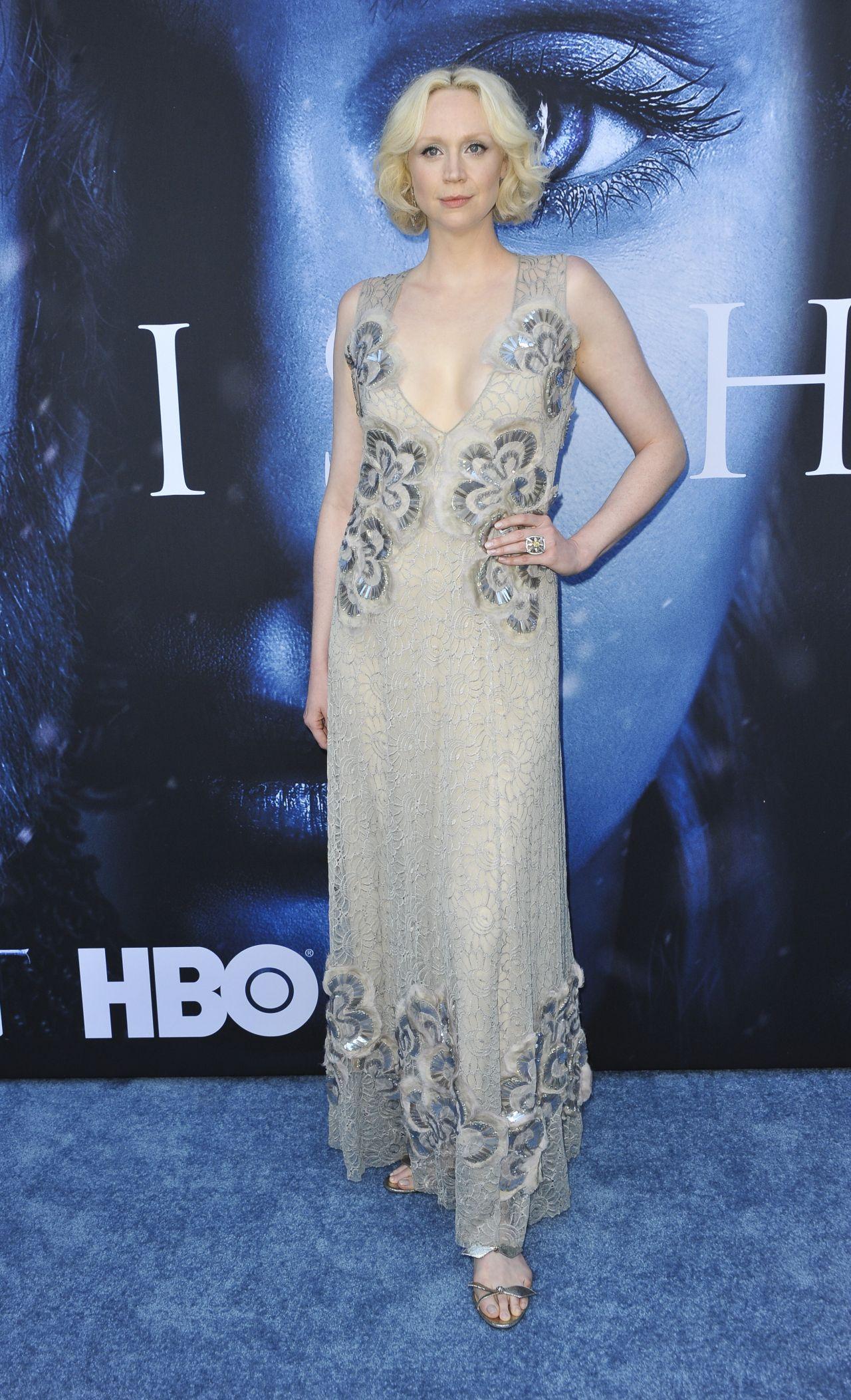 Gwendoline Christie Game Of Thrones Season 7 Premiere