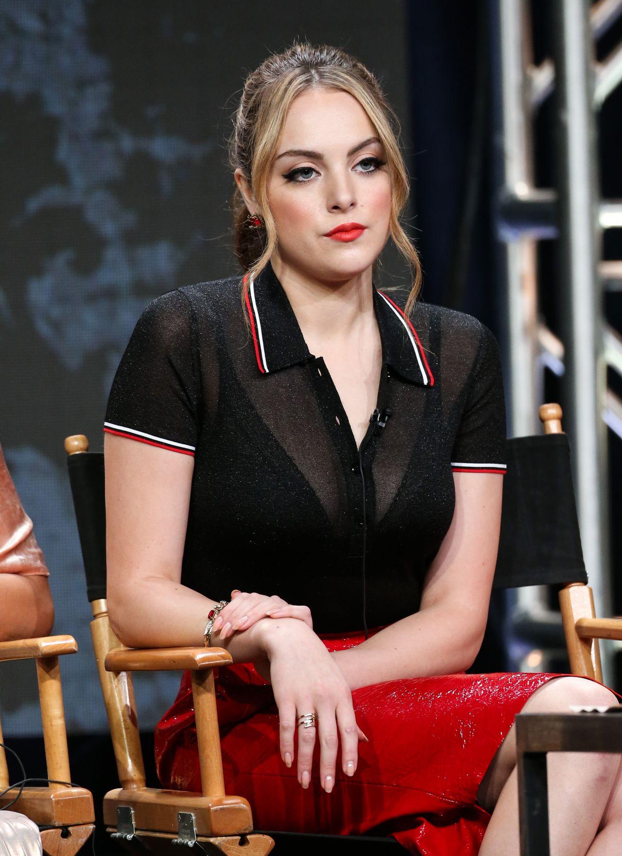 Elizabeth Gillies The CW Dynasty Panel TCA Summer
