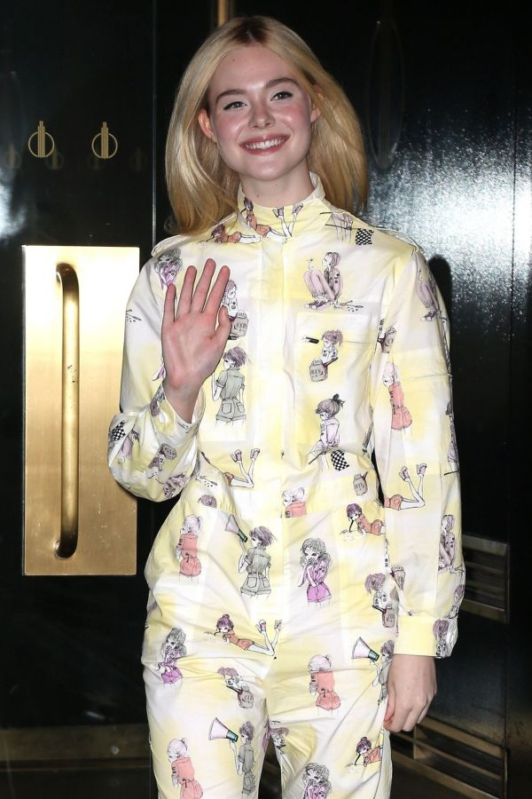 """Elle Fanning -""""TODAY"""" Show in NYC 8/30/2017"""