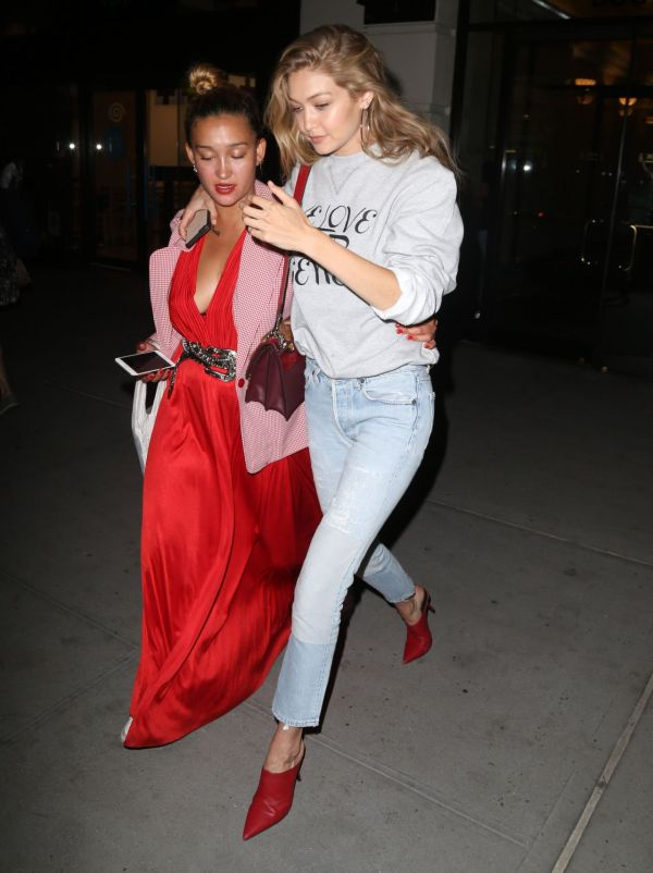 Gigi Hadid - Leaving UNICEF Party at the IMG Offices in ...