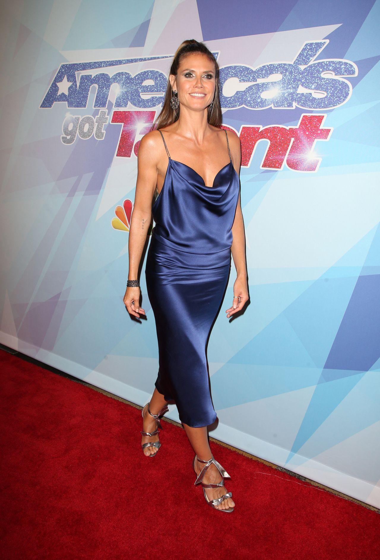 Heidi Klum Americas Got Talent Season 12 Live Show In