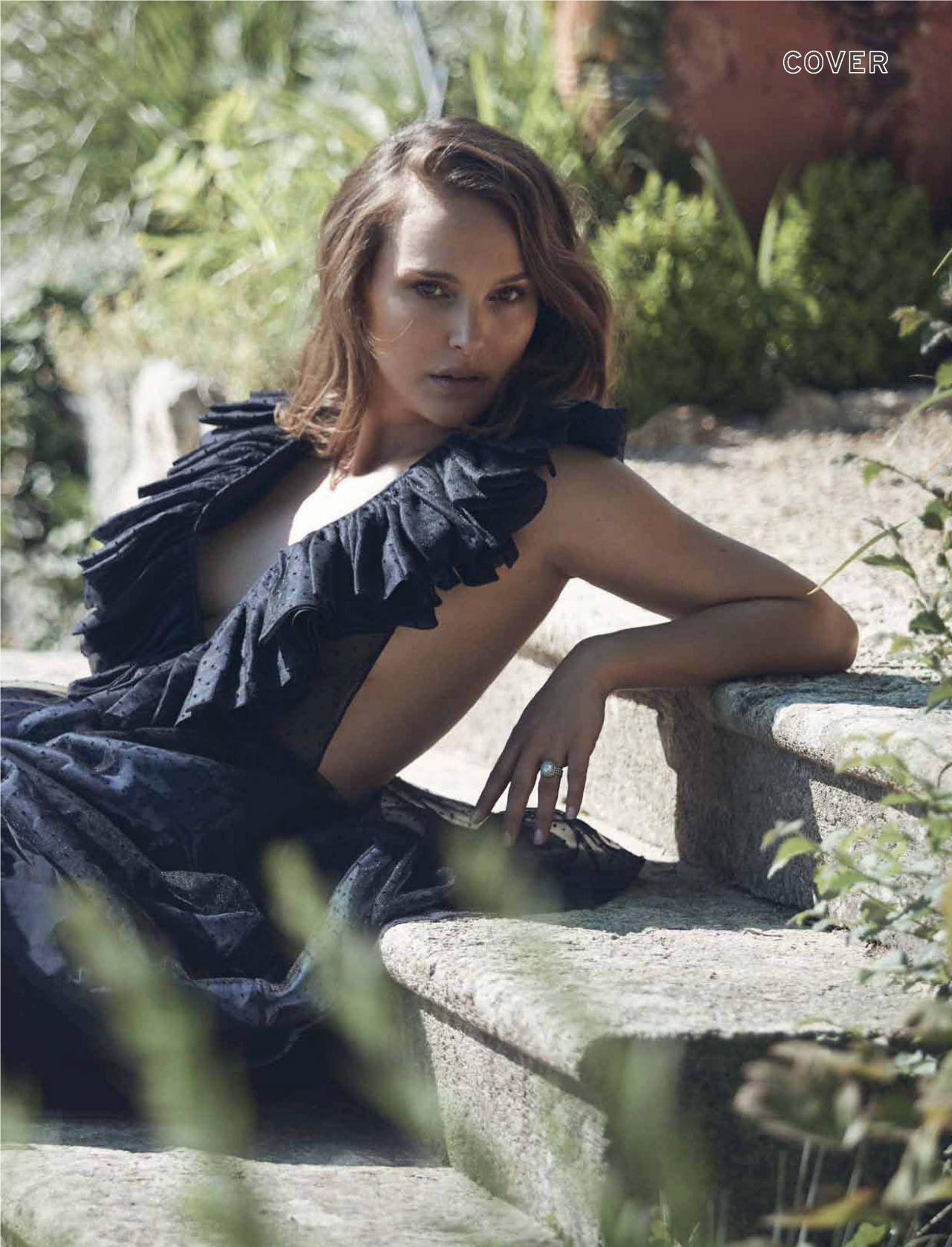 Natalie Portman Elle Magazine South Africa September