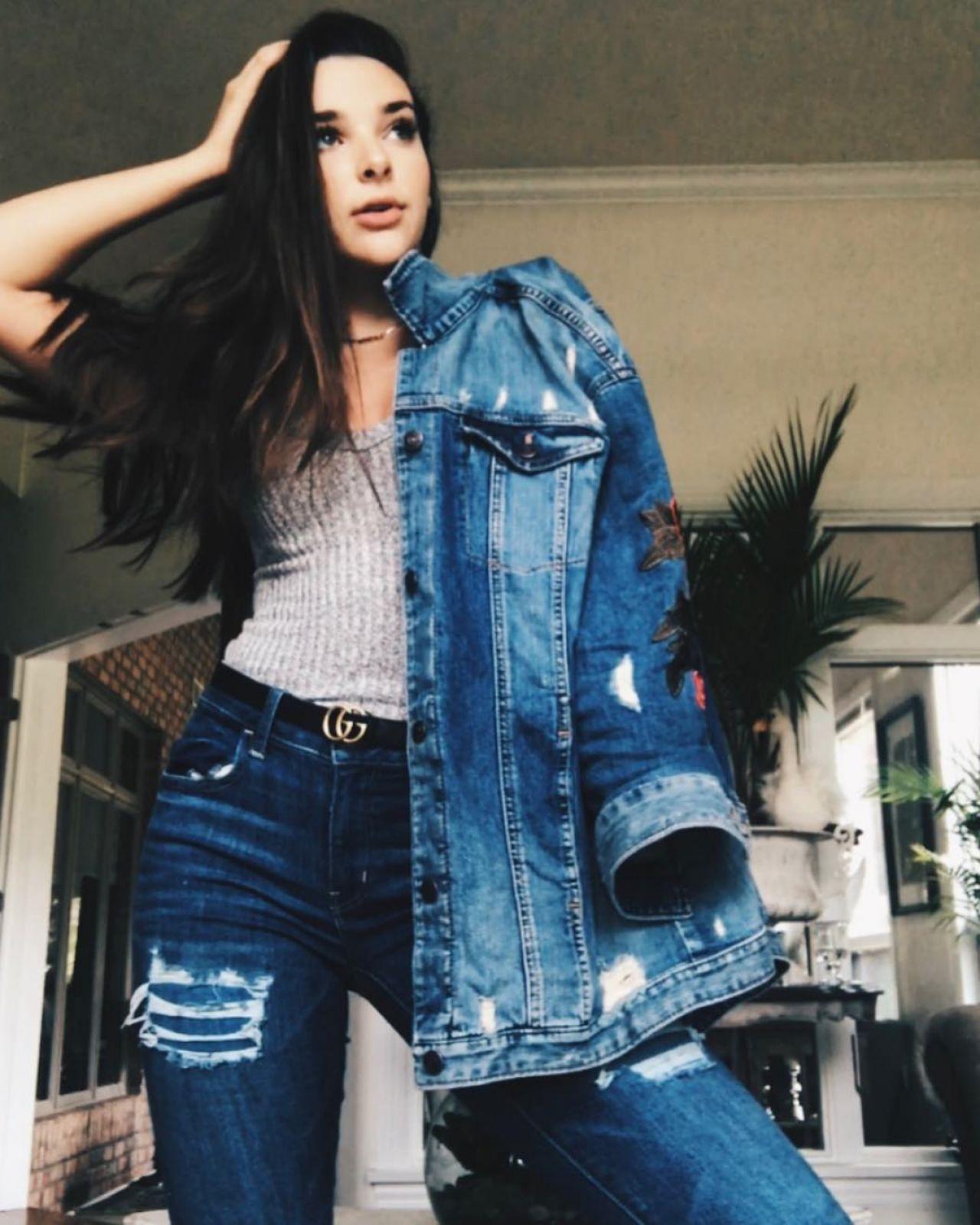 Kendall Vertes Social Media Pics September 2017