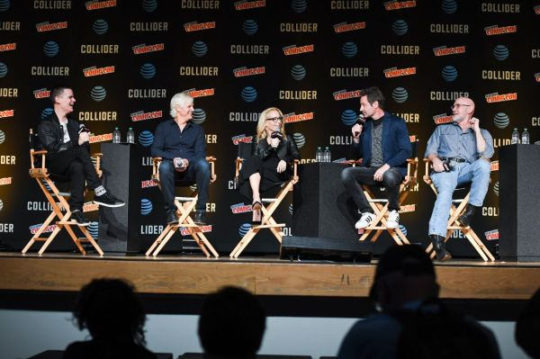 """Gillian Anderson - """"The X-Files"""" Presentation & Panel at ..."""