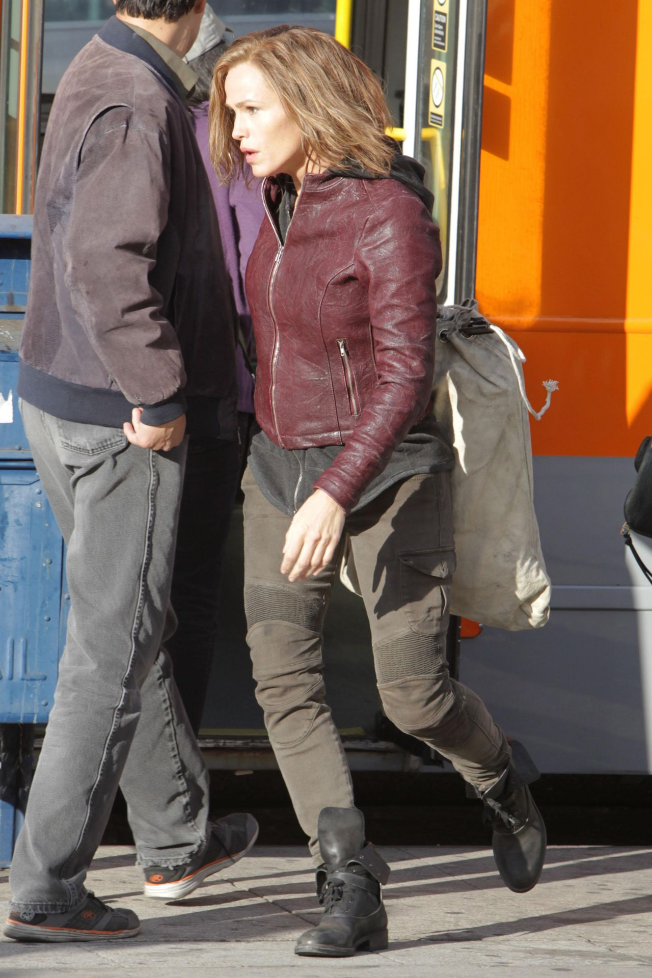 Jennifer Garner Peppermint Set In Los Angeles 11302017