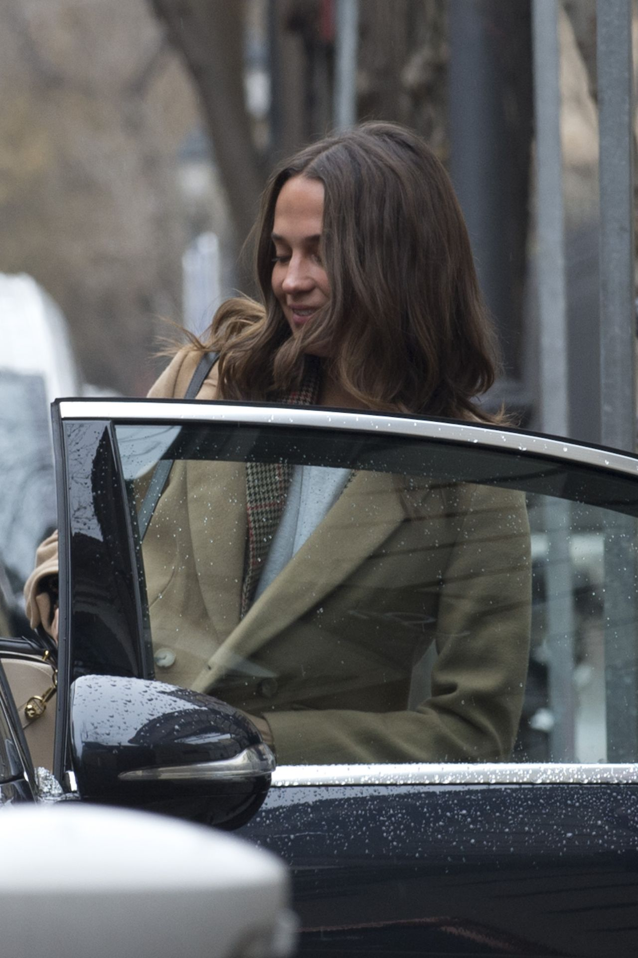 Alicia Vikander And Michael Fassbender Out In Madrid 02