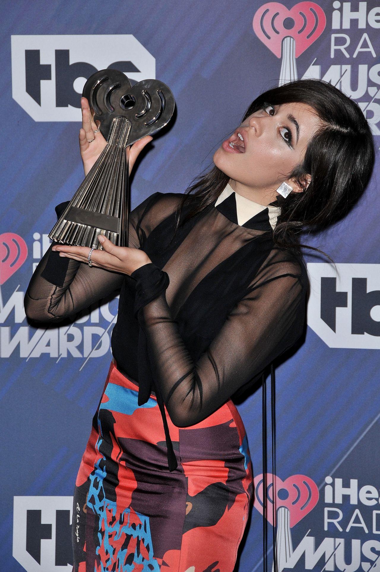 Camila Cabello 2018 IHeartRadio Music Awards In Inglewood