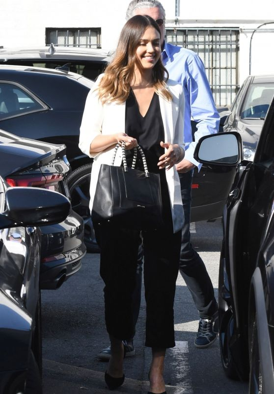 Jessica Alba - Heading to a Business Meeting in Beverly Hills 05/23/2018