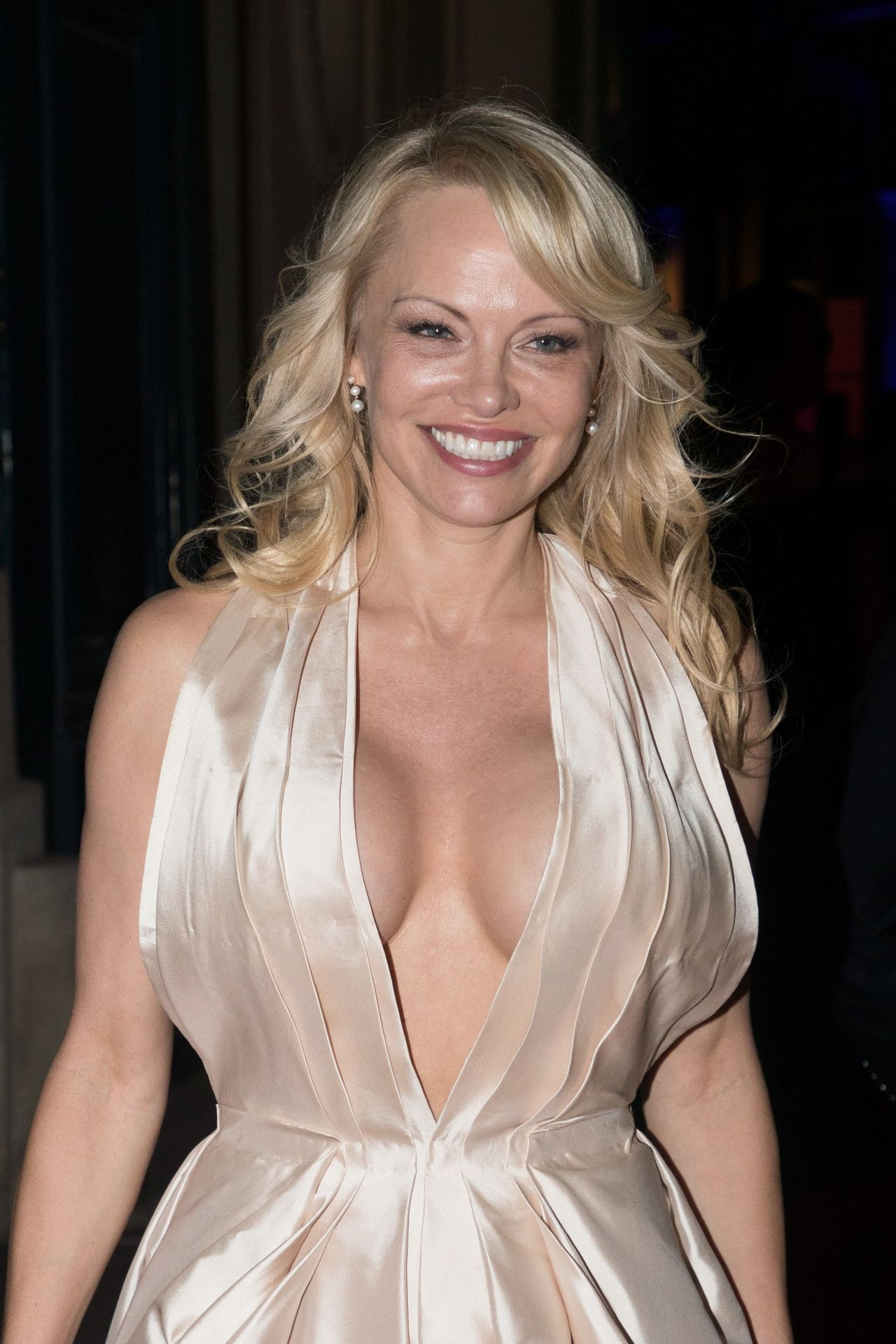 Pamela Anderson ACM Dinner Gala F1 Grand Prix Of Monaco