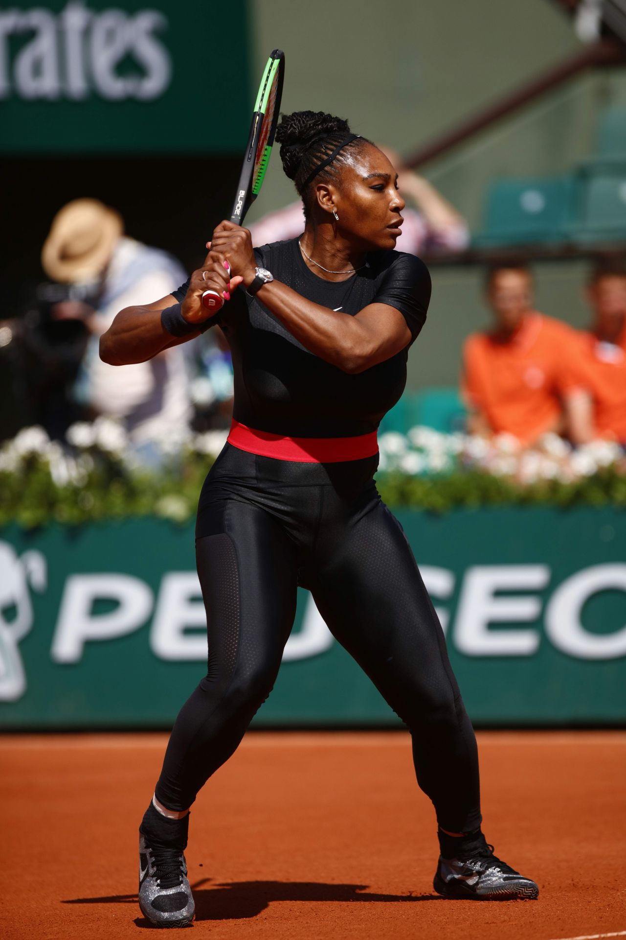 Suit Catwoman Serena Williams