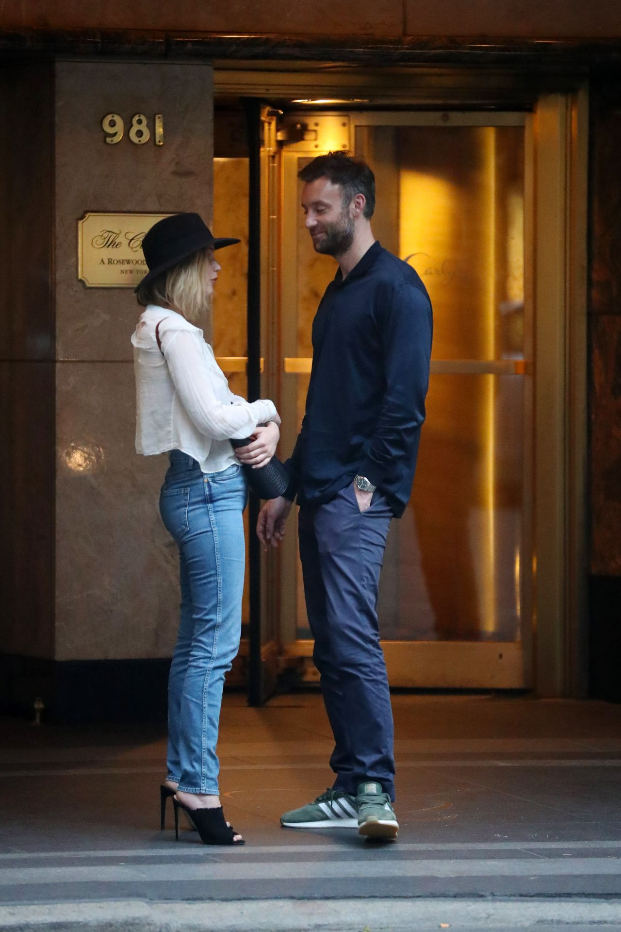 Jennifer Lawrence And Cooke Maroney In New York City 0621