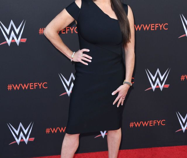 Stephanie Mcmahon Wwes First Ever Emmy Fyc Event In North Hollywood