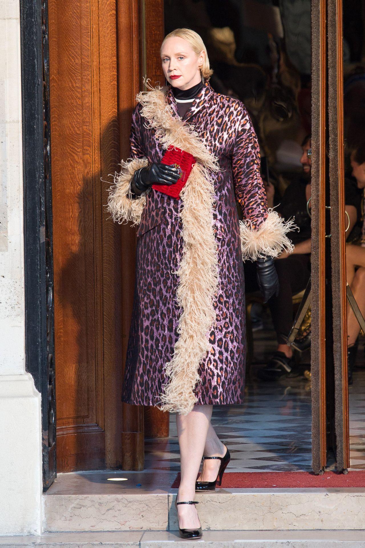 Gwendoline Christie Paris Haute Couture Miu Miu 2019