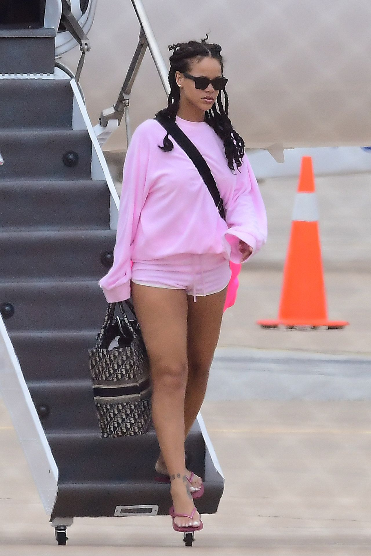 Rihanna At Airport In Barbados 08192018