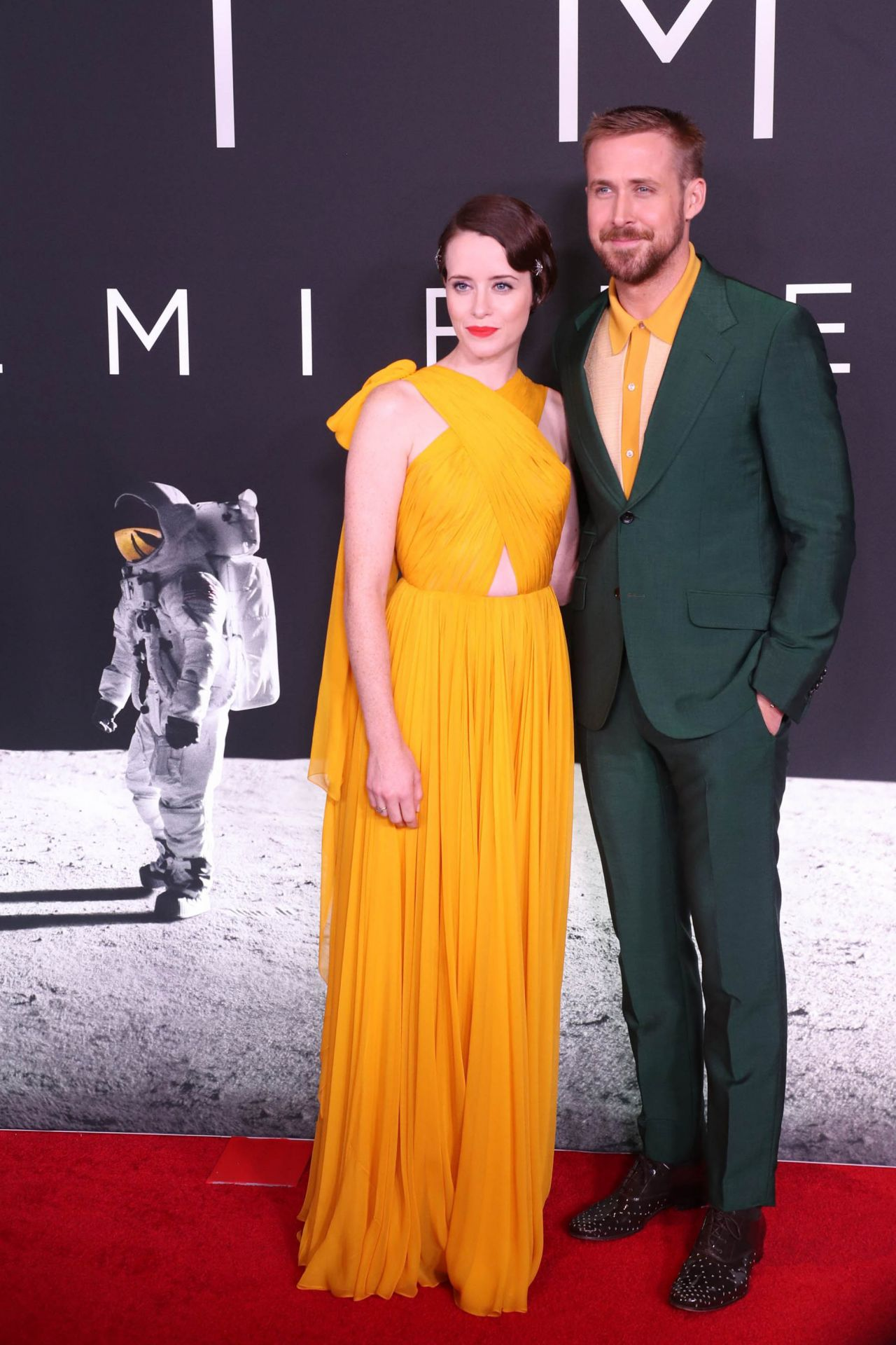 Claire Foy First Man Premiere In Washington DC