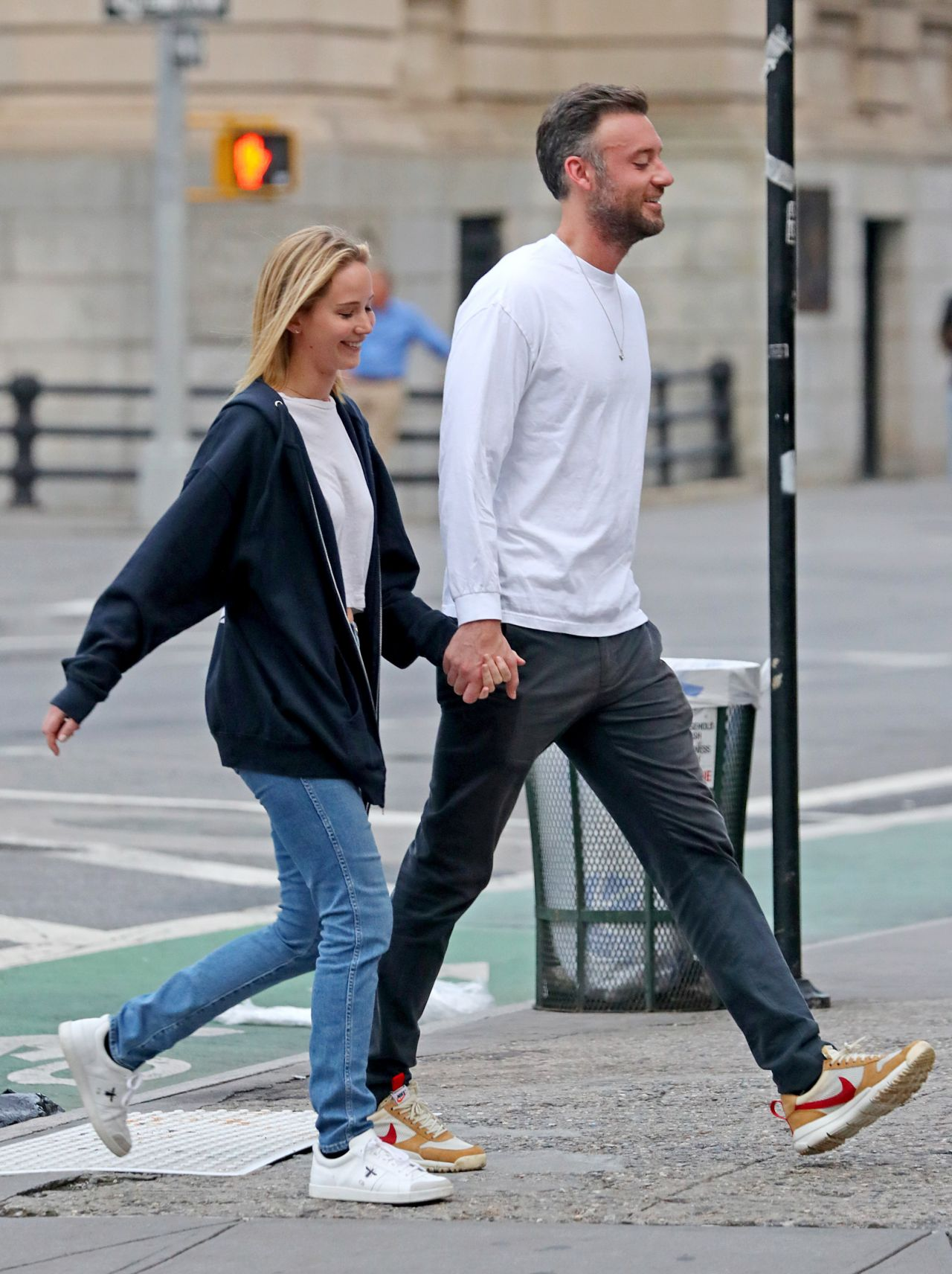 Jennifer Lawrence And Cooke Maroney In NYC 10022018