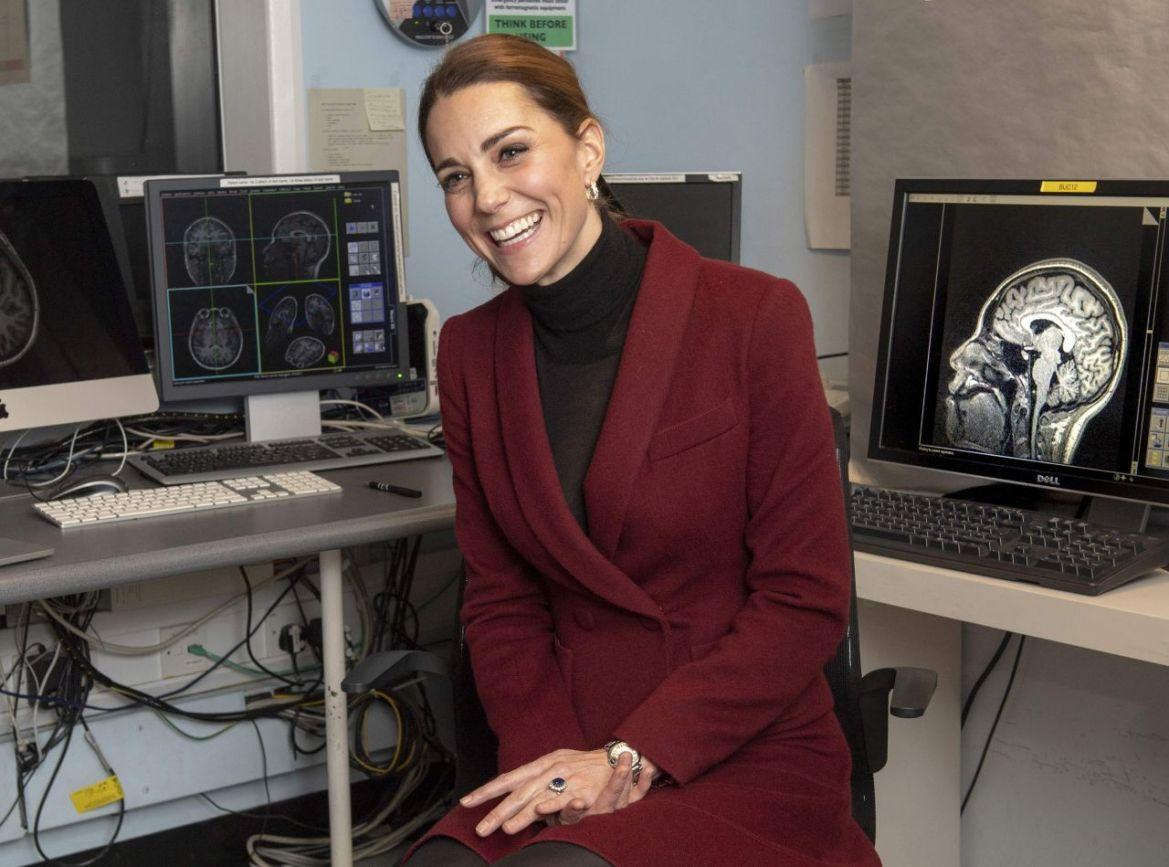 Kate Middleton – Vistis a Developmental Neuroscience Lab in London 11/21/2018