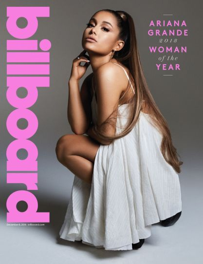 ariana grande billboard woman of the year 2018