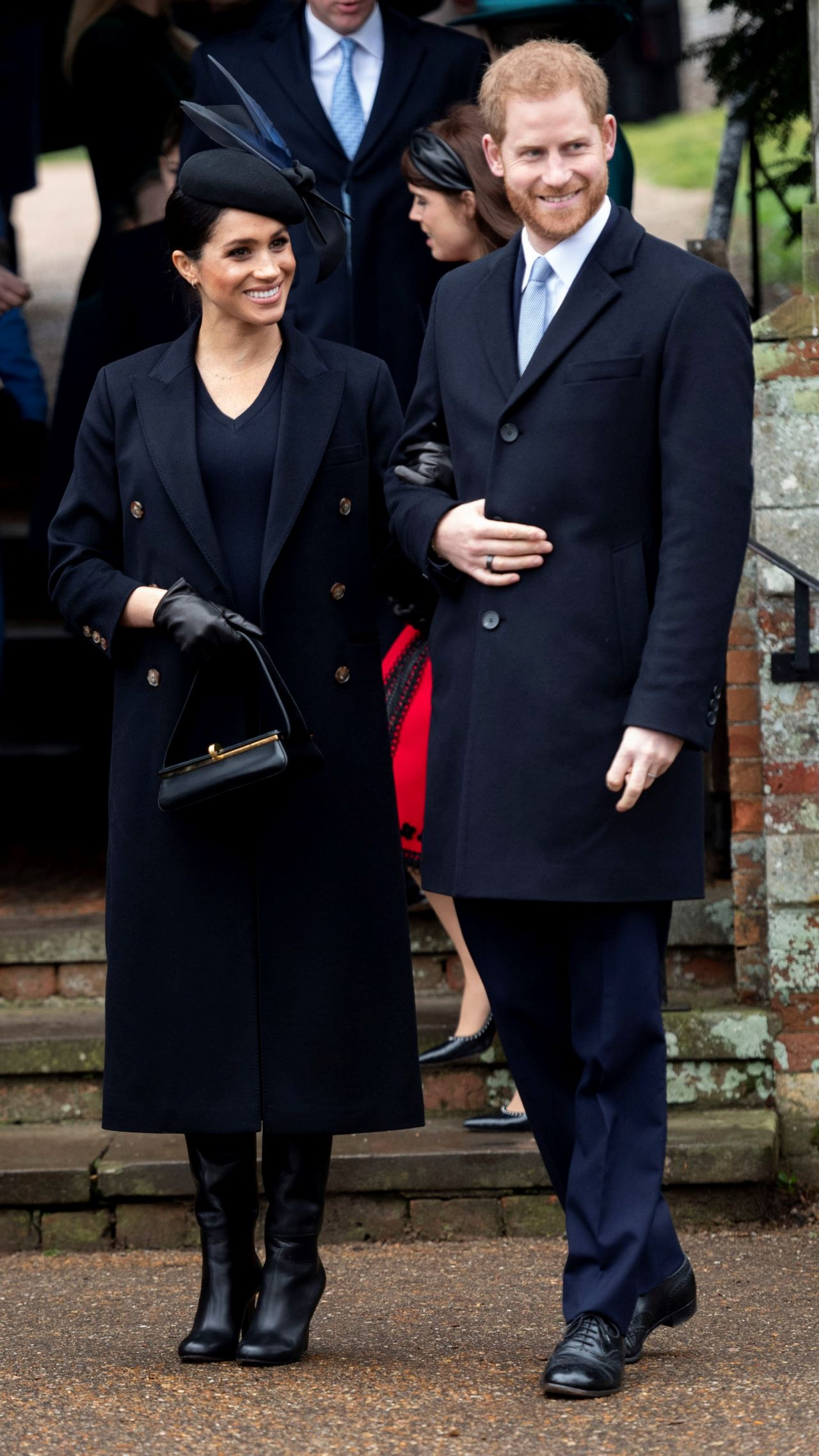 Meghan Markle Christmas Day Church Service In Kings