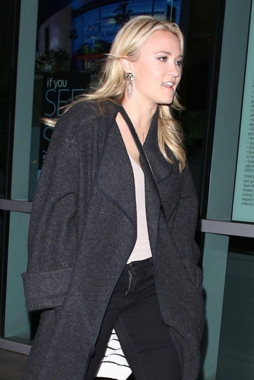 Emily Osment Heading To The Elton John Concert In La 01